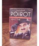 Agatha Christie's Poirot Series 7 8 DVD, New, Sealed, 2 Discs, NR, 4 mys... - $14.95