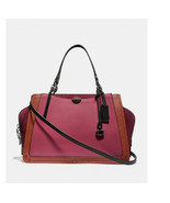 Coach Dreamer 36 In Colorblock 31646 shoulder bag satchel tote laptop - $266.31