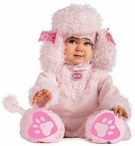 Rubie's Cuddly Jungle Pink Poodles Of Fun Romper Costume, Pink, 6-12 Months - $657,85 MXN