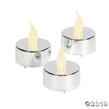 Silver Battery Operated Tealight Candles~Set of 12 - $19.36