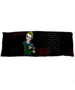 dakimakura body hugging pillow case ha ha joker nerd geek bricks wall - $36.00