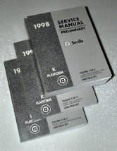1998 GM Cadillac SEVILLE Preliminary Workshop Service Shop Repair Manual... - $9.89