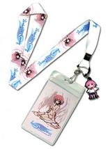 Heavens Lost Property Ikaros Lanyard ID Badge Holder w/ Charm! - $7.84