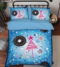 3D Cute Pattern Bed Pillowcases Quilt Duvet Cover Set Single Queen King Size AU - $64.32+