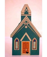 The Cats Meow  Village 1991 All Saints Church New Bern South Carolina Se... - $2.51