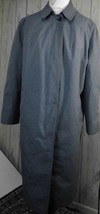 vintage London Fog womens trench coat 16 alpaca/mohair lining pima cotto... - $35.63