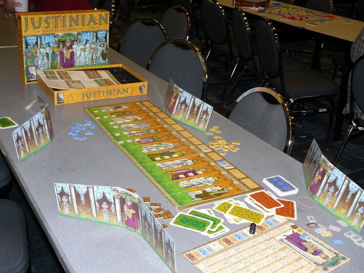 Justinian by Mayfair Games
