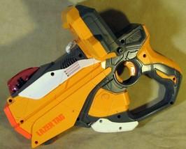 Hasbro Nerf LAZER TAG Blaster Gun w/ iPhone Dock 2012 - $18.80
