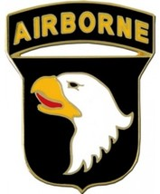 US Army 101st Airborne Division Combat Service Badge(2- 1/16 inch) - $14.84