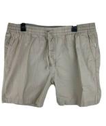 ONIA CHINO shorts Mens LARGE KHAKI TAN 100% Cotton Boating Active Yoga E... - $23.70