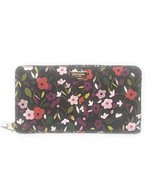 Kate Spade New York Neda Laurel Way Wallet (Boho Floral Black Multi) - $98.99