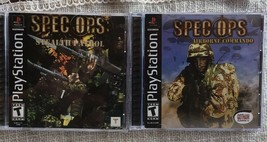 Spec Ops: Airborne Commando & Stealth Patrol PlayStation 1 Lot - $12.22