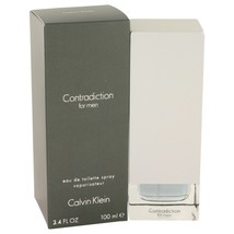 Contradiction By Calvin Klein Eau De Toilette Spray 3.4 Oz 401979 - $29.04