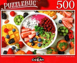 Rainbow Breakfast - 500 Pieces Jigsaw Puzzle for Age 14+ - $11.83