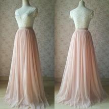 DARK GRAY Maxi Tulle Skirt For Wedding Dark Grey Wedding Bridesmaid Skirt,wd398 image 11