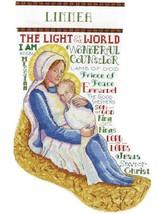 Design Works Mother and Child Nativity Christmas Cross Stitch Stocking Kit 6850 - $29.95