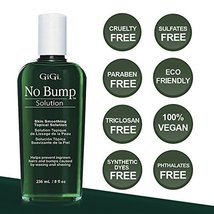 GiGi No Bump Skin Smoothing Topical Solution for after shaving, waxing or laser  image 5