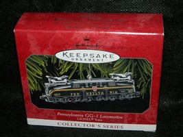 1998 Hallmark Keepsake Pennsylvania GG-1 Locomotive Collector Xmas Ornament - $25.74
