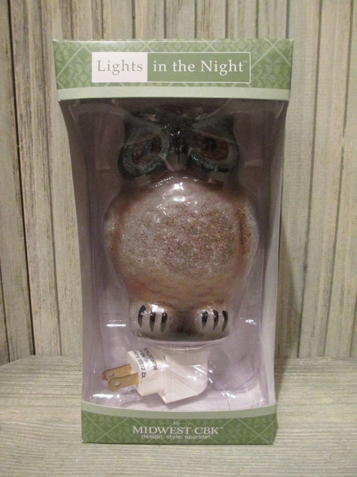 Big Brown Owl Night Light - New in Box image 3