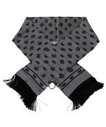 Men's Dolce & Gabbana Crown 100% Silk Scarf Gray - £98.25 GBP