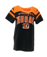 NFL Mens Throwback Short Slv Jersey Tee Bengals S NEW A282274 - $22.75