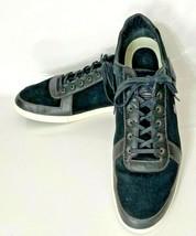 Lacoste Crosier 13 SRM Men's Black Suede & Leather Athletic Shoes - US S... - $34.99