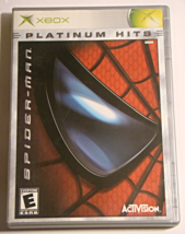 XBOX - SPIDER-MAN (Complete with Manual) - $8.00