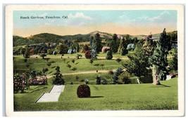Early 1900s Busch Gardens, Pasadena, CA Postcard  - $9.28