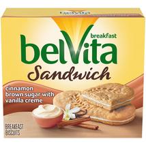 Belvita Breakfast Biscuit Sandwiches, Cinnamon Brown Sugar & Vanilla Cre... - $5.00