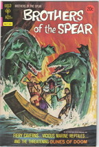 Brothers of the Spear Comic Book #8 GOLD KEY 1974 VERY FINE- - $13.54