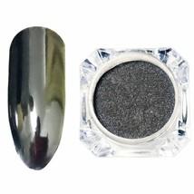 Gam-Belle® 1 Bottle Black Mirror Effect Nail Glitter Powder Dust Chrome ... - $1.91