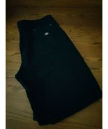 Dickies Loose Fit Men's shorts size 42 black color zip up pockets EUC - $23.09