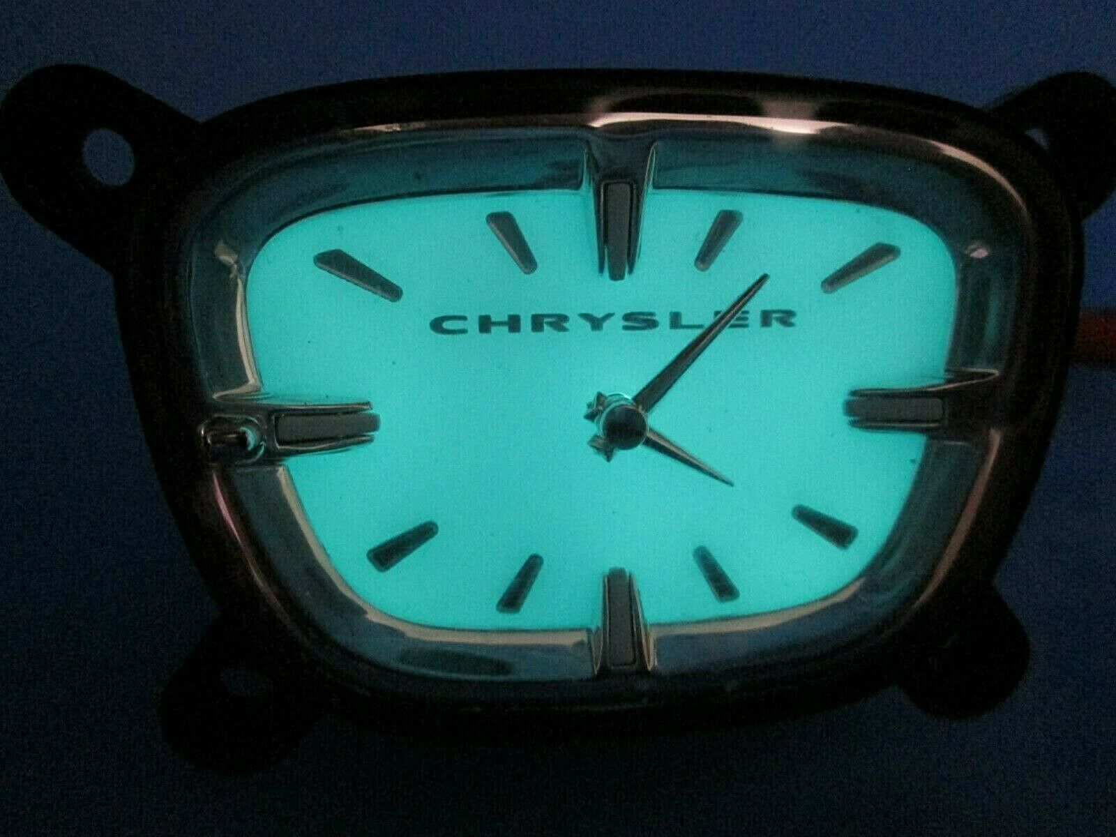 Primary image for 11-14 Chrysler 200 Dodge Avenger Dash Mounted Analog Clock LED OEM TESTED