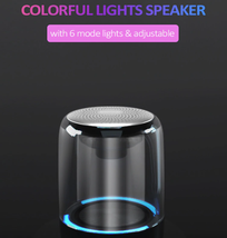 Portable Wireless Bluetooth Speaker Mini Colorful light Portable Music S... - $27.00