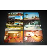 6 Vintage Motel POSTCARDS Posted Hotel Lynhurst Resort Flagg Ranch Dixie... - $28.49