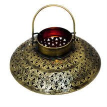 Handicraft Handmade Iron Antique Degchi T-light for Home Decoration - $58.99