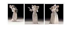 Lladro Porcelain Retired Set 1016404-07 SISTER W/SAX, SINGING, W/TAMBOUR... - $1,108.00