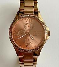 G by GUESS (G12407L1) Rose Gold-Tone w/ Rhinestone Women's Watch (RARE) - $39.59