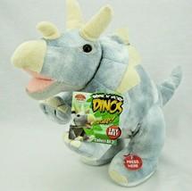 Cuddle Barn Roar n More Dinos Triceratops Plush Animated Roaring Dinosau... - $12.56