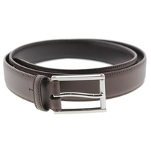 $295.00 Ralph Lauren 2673 Mens Brown Calfskin Leather Solid Dress Belt 40 - $98.99