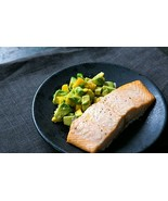 Baked Salmon with Avocado Mango Salsa Recipe Homemade Recipes - $1.00