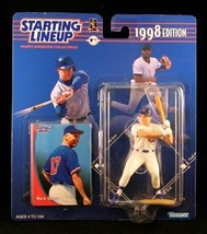 Starting Lineup Mark Grace / Chicago Cubs 1998 MLB Action Figure andamp; Exclusi - $32.35