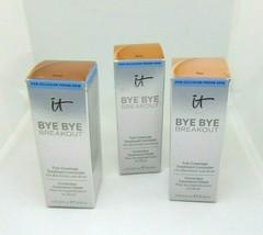 It Cosmetics Bye Bye Breakout Full-Coverage Concealer 0.35oz/10ml Choose Shade - $19.95