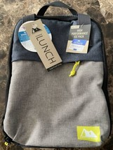 Arctic Zone Insulated Lunch Bag w/ Microban Protection & Ice Pack Blue G... - $15.83