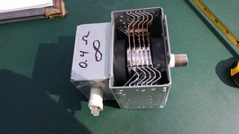 7KK67 EMERSON MW8992RD MICROWAVE OVEN MAGNETRON, LG 2M226, TESTS AT 0.4 ... - $30.77