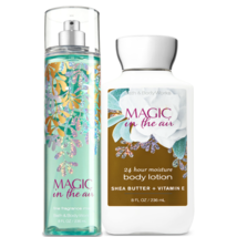 Bath & Body Works Magic In The Air Body Lotion + Fine Fragrance Mist Duo... - $27.39