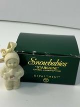 Dept 56 Snowbabies 2000 Starshine Mini Ornament w/Swarovski Stone #05731... - $13.99