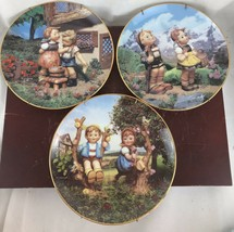 Lot of 3 Danbury Mint Hummel Collector Plates - $18.70