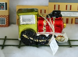 POTTERY BARN MERCURY GLASS TRAIN ORNAMENT -NWT- GET ON TRACK WITH ADORAB... - $24.95
