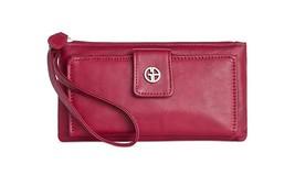 Giani Bernini Sandalwood Medium Pink Grab & Go Wallet New - $43.55
